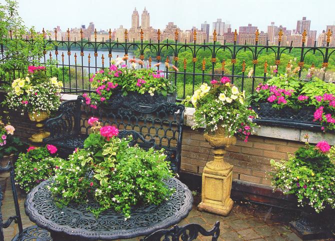 New York City Gardens Pamela Scurry Inspired Living