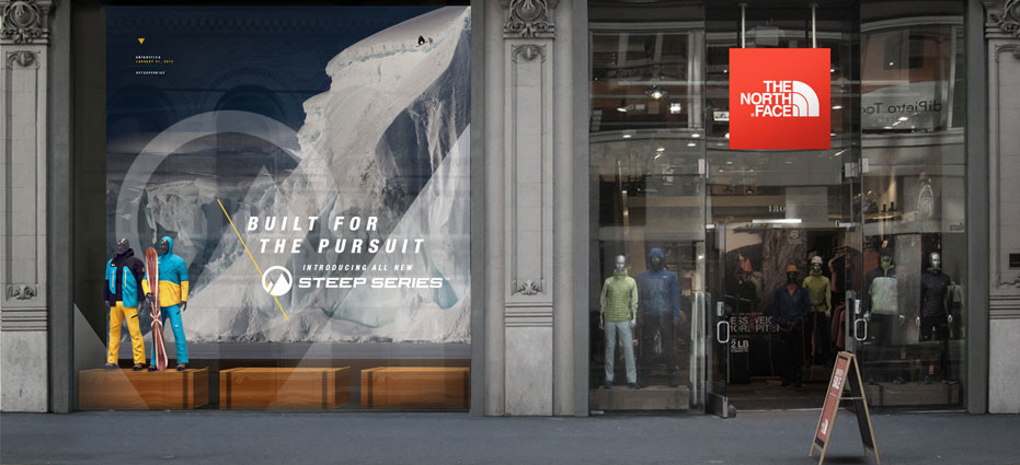 the north face never stop exploring campaign