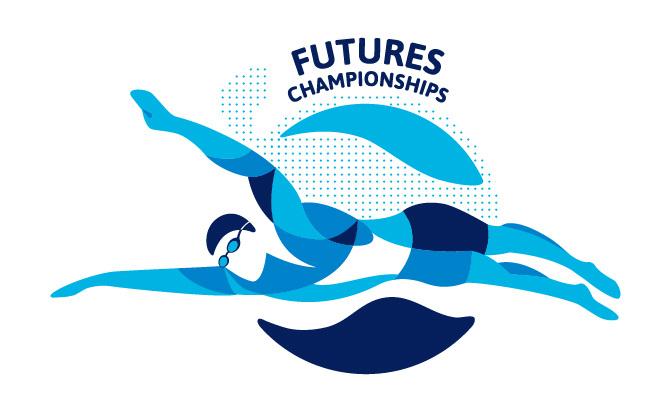 usa swimming graphic design portfolio of marina groh