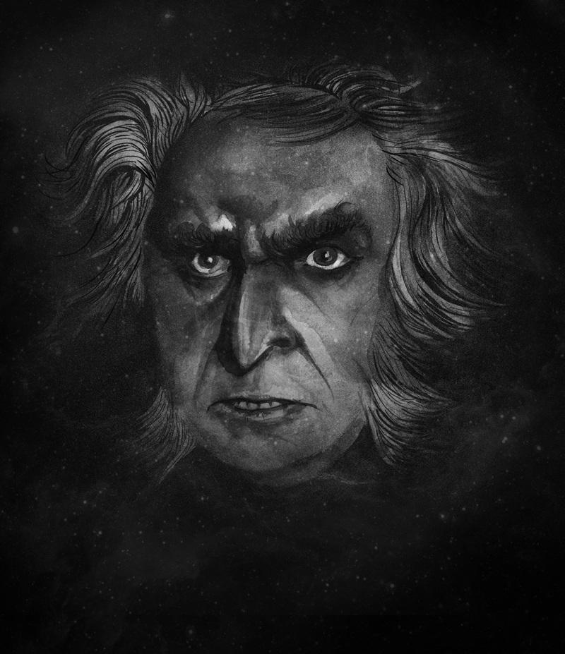 Dr Mabuse, Der Spieler - Aaron Klopp - Illustration